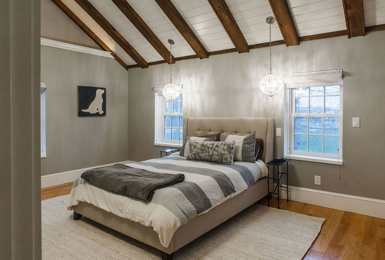 Newport house renovation by in-house design - construction build firm in RI