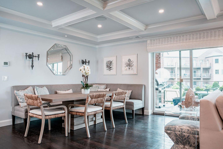 Condo renovation, in-house design build firm in RI