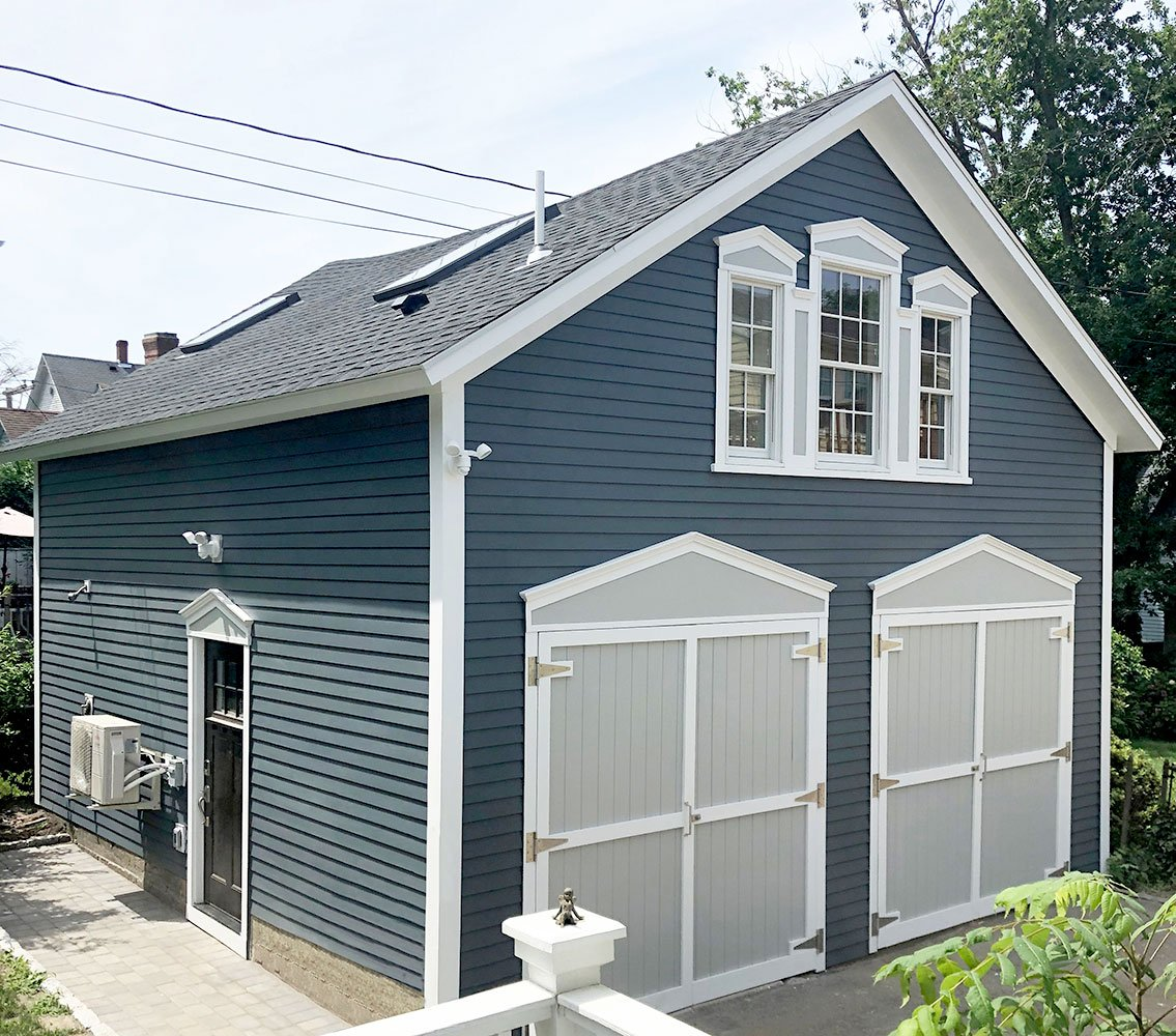 1 Garage renovation by in-house design - construction build firm in RI