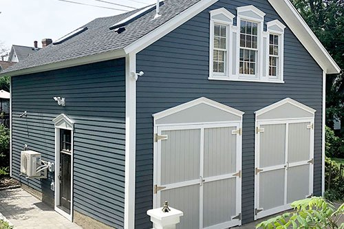 Garage renovation by in-house design - construction build firm in RI