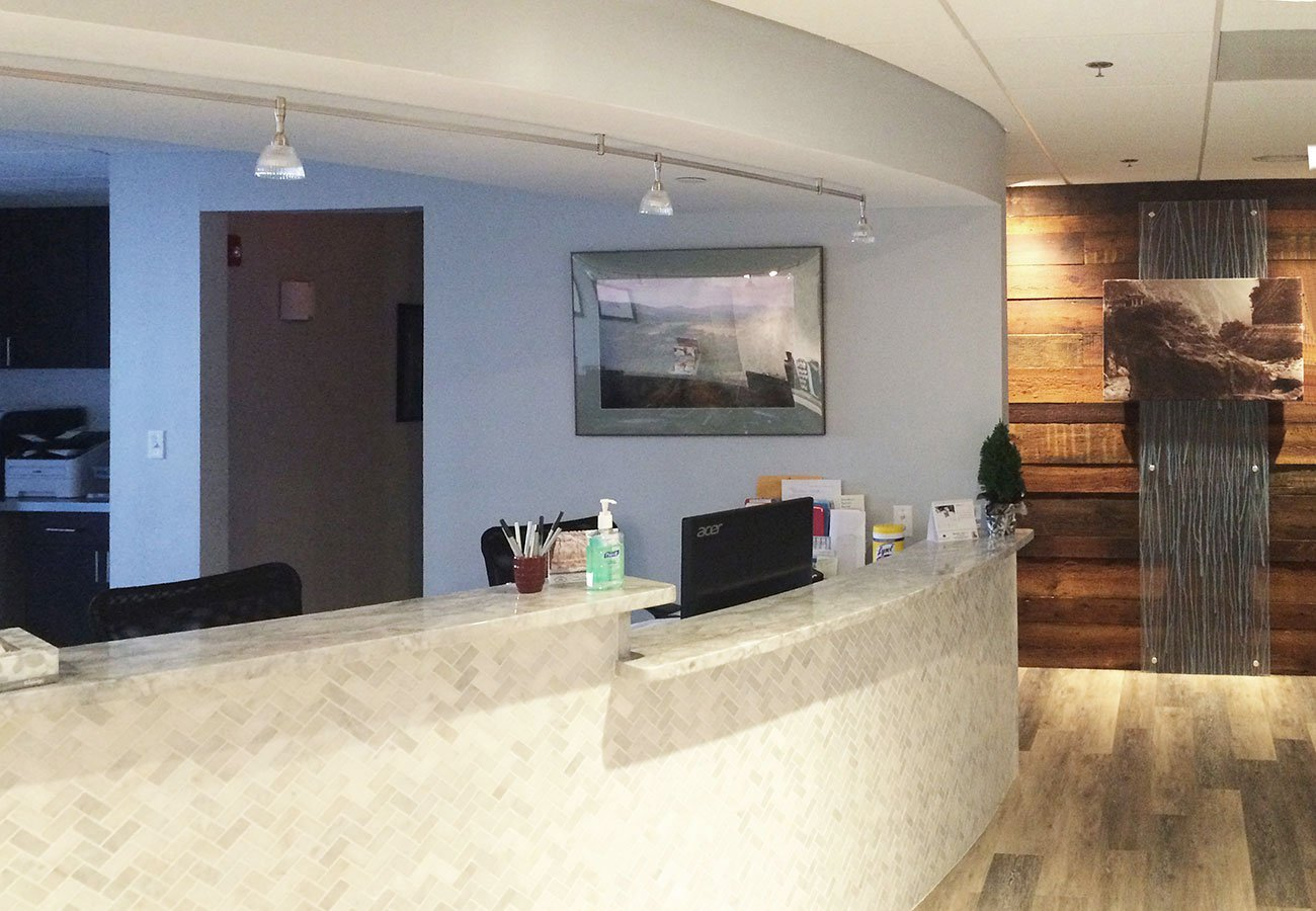 1 Medical Facility - commercial remodeling construction project by in-house design build firm in RI
