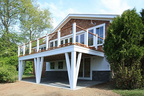 Deck build out by in house design - construction build firm in RI