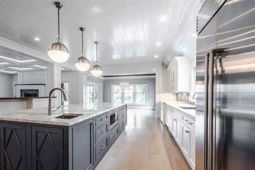 New home construction project by in-house design build firm in RI