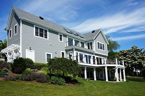 Exterior home renovation by in house design - construction build firm in RI