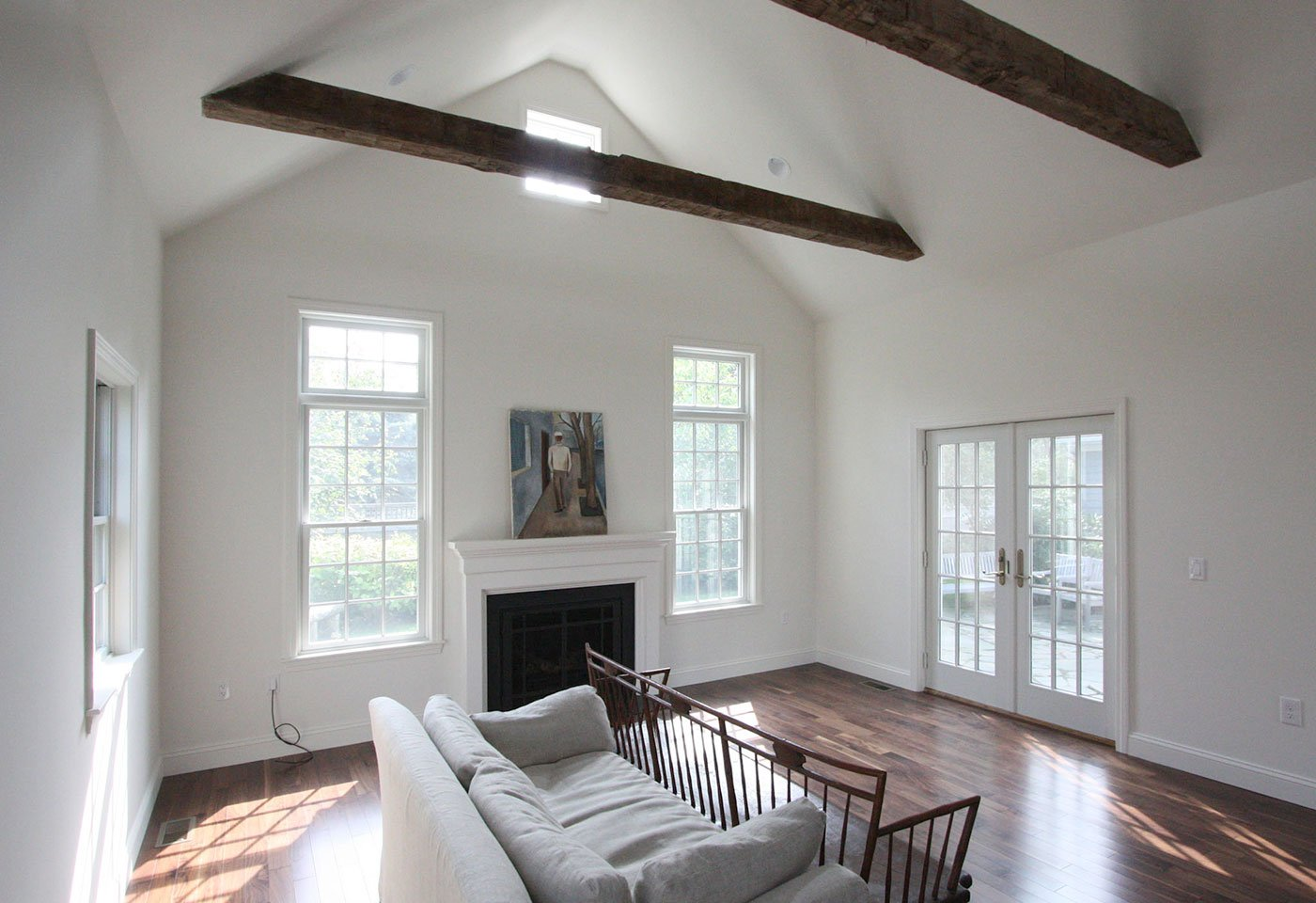 1 Family room addition by home renovation, in-house design build firm in RI