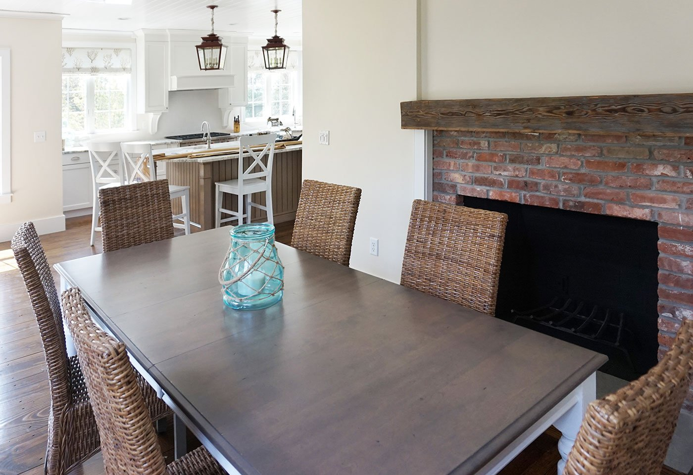 2 Rustic home renovation by in house design - construction build firm in RI