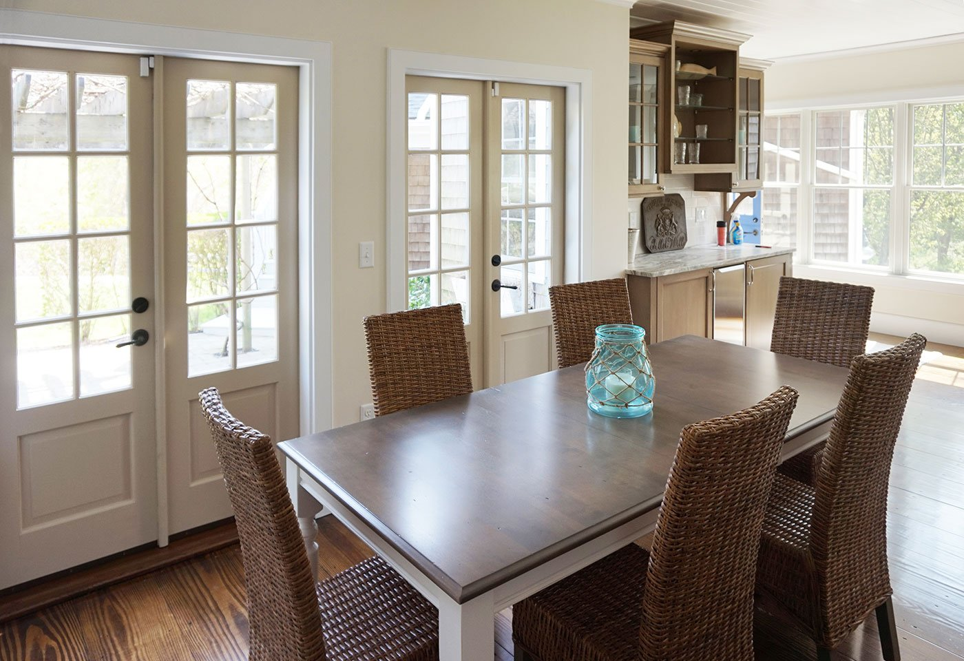1 Rustic home renovation by in house design - construction build firm in RI