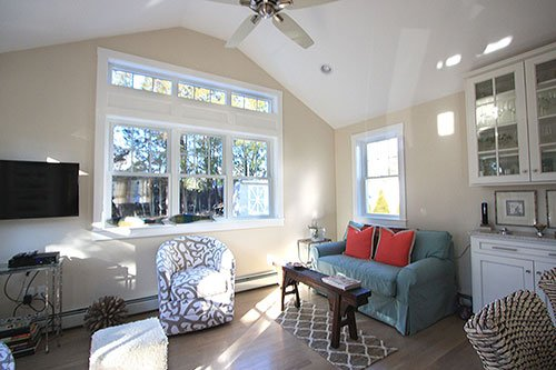 Sunroom addition - home renovation - in house design construction firm