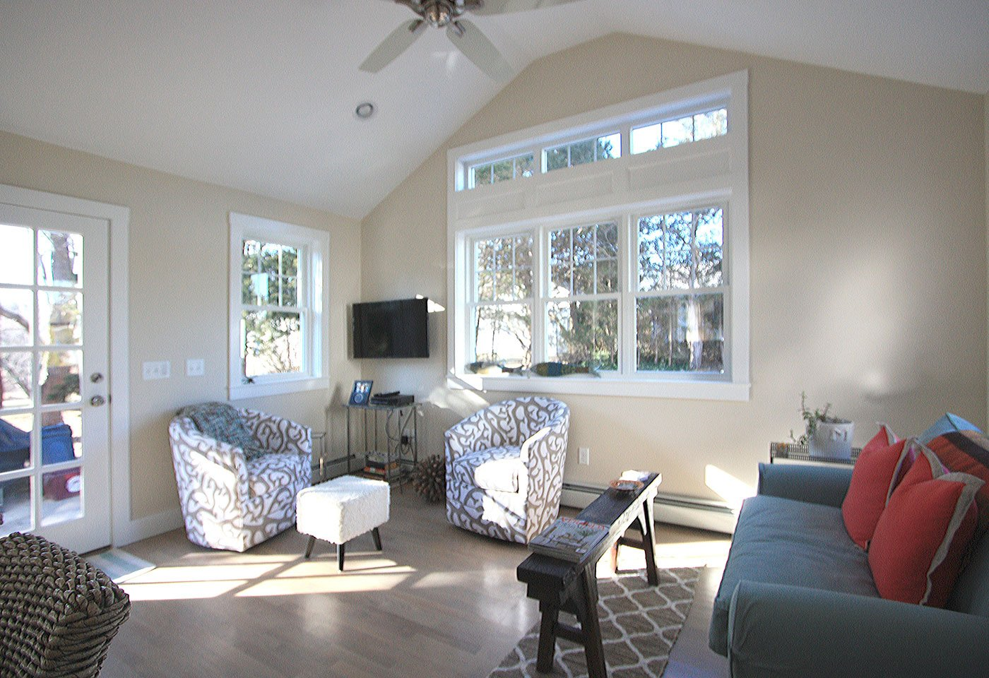 1 Sunroom addition - home renovation - in house design construction firm