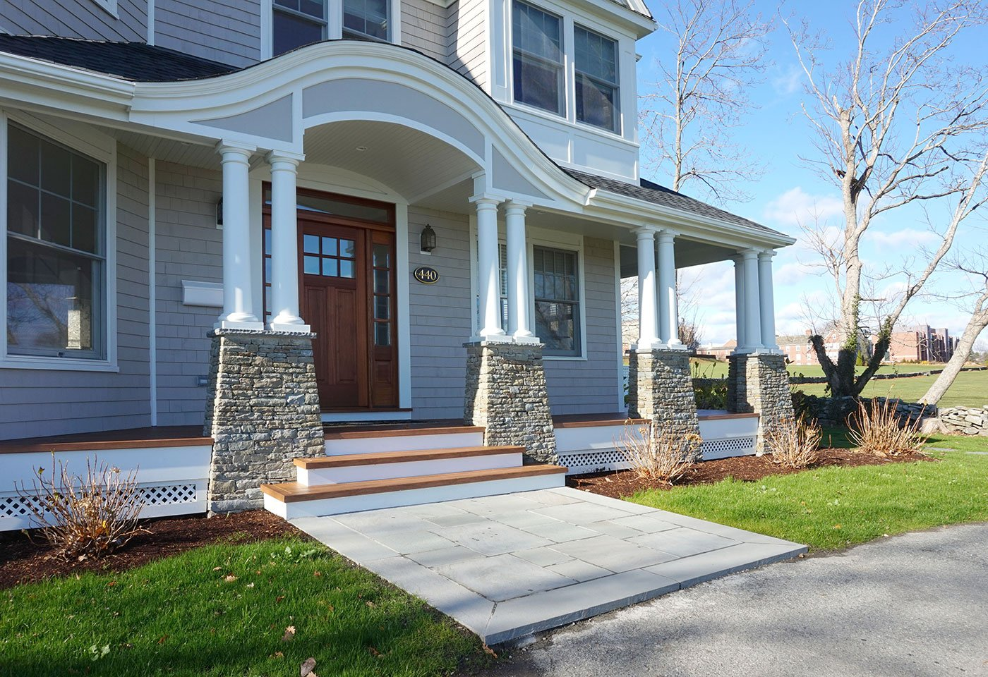 1 Full home remodel project by in house design - construction build firm in RI