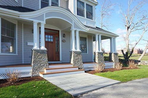 Full home remodel project by in house design - construction build firm in RI