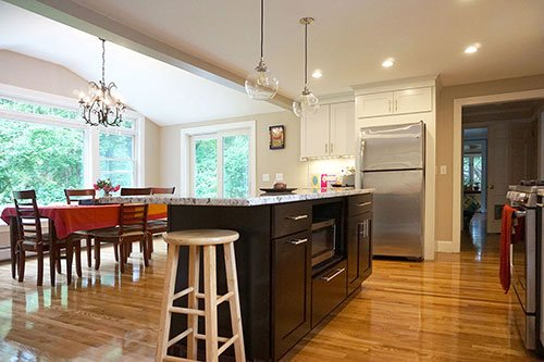 Home addition project by home renovation, in-house design build firm in RI